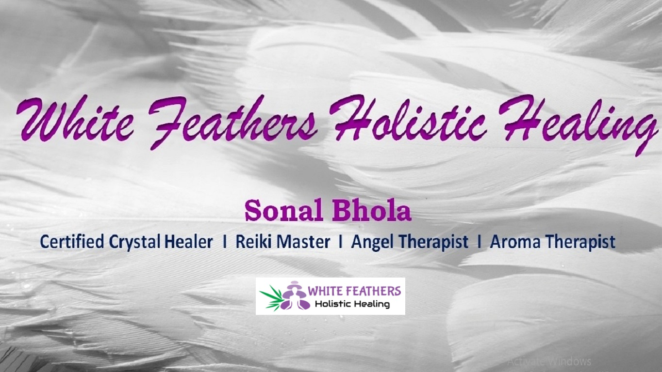 White Feathers Holistic Healingbest Crystal Healing Angel Therapy